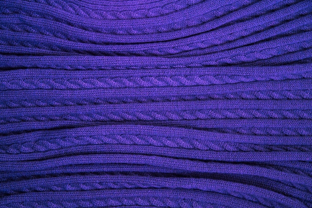 Texture bleue en fine laine