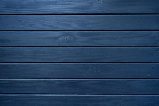Texture de bois bleu de mur en bois pour le fond et la texture.