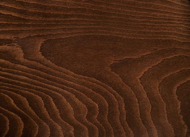 Texture de bois brun foncé rustique gros plan, table ou autres meubles