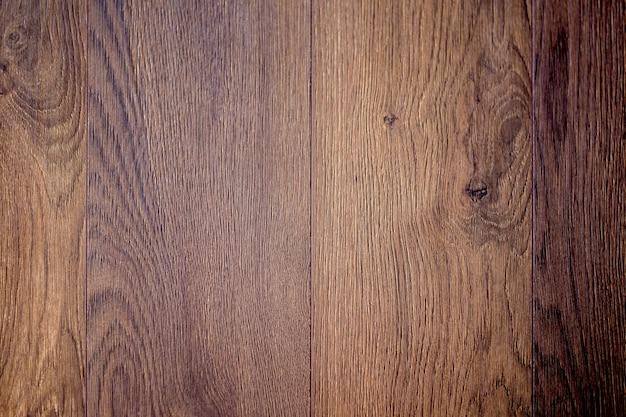 Texture de bois de chêne recouvert de vernis foncé