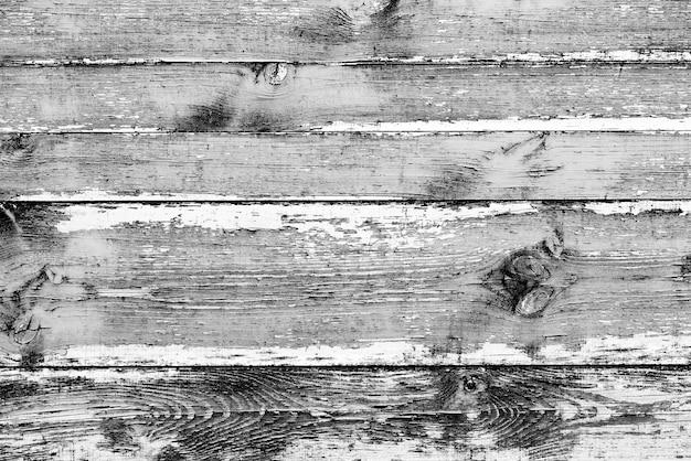 Texture en bois de couleur grise avec des rayures et des fissures, qui peut être utilisée comme arrière-plan