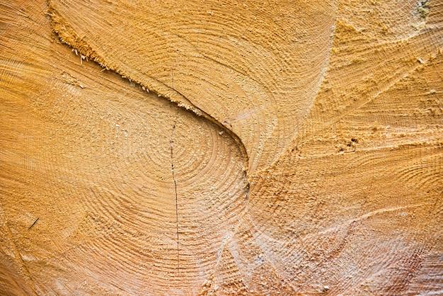 La texture en bois fissurée jaune clair peut être utilisée pour le fond