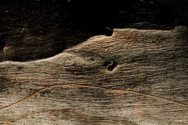 Texture en bois foncé avec espace copie