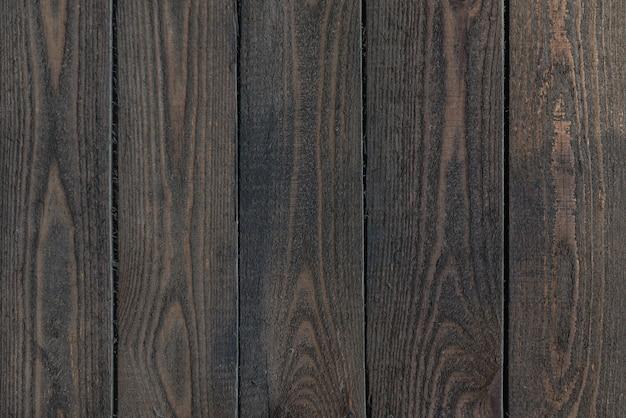 Texture en bois foncé. surface ancienne avec motif naturel. fond en bois vintage.