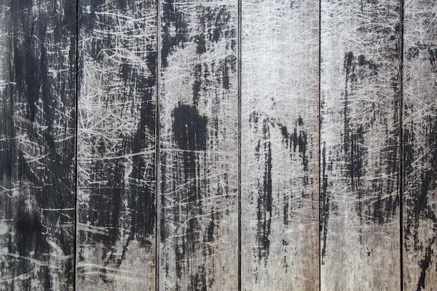 Texture en bois noir