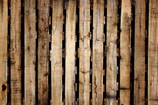 Texture en bois de palettes pour le fond