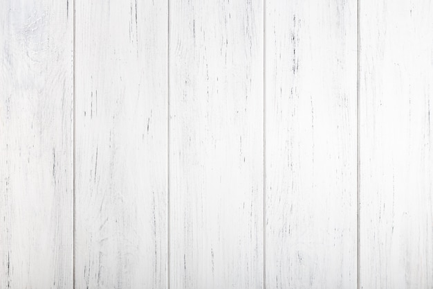 Texture en bois peint en blanc. fond naturel