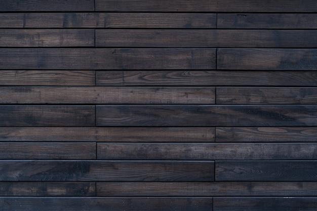 Texture de bois peint en brun de mur en bois pour le fond et la texture.