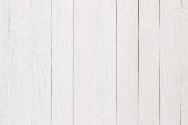 Texture en bois peint, table ou sol blanc