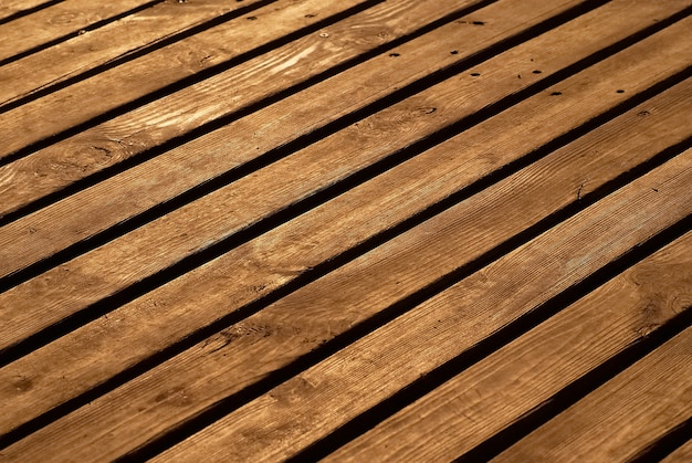 La texture en bois peut être utilisée pour le fond