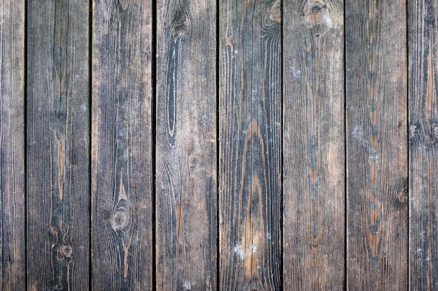 Texture de bois sombre rayée vieillie