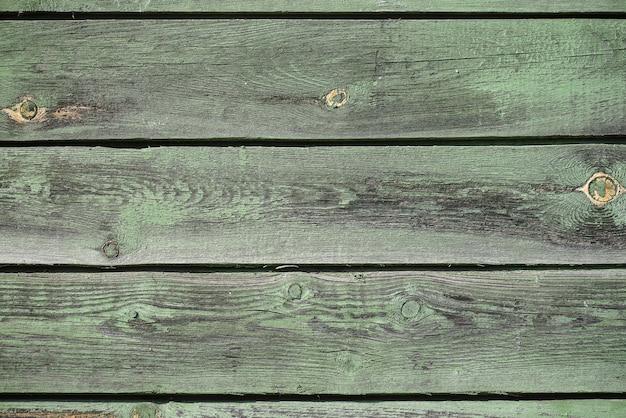 Texture en bois vert comme toile de fond