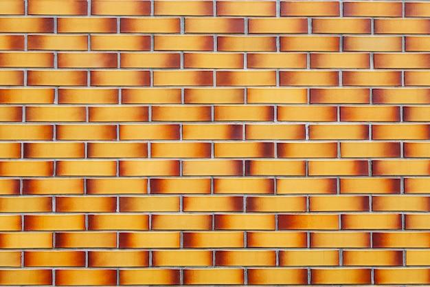 Texture de brique de brique bicolore