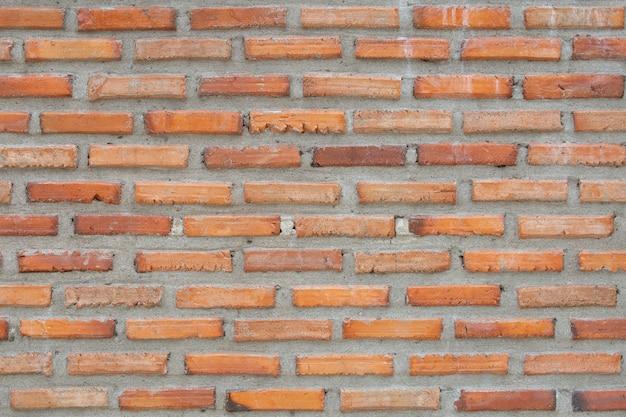 Texture de brique brune. concept vintage
