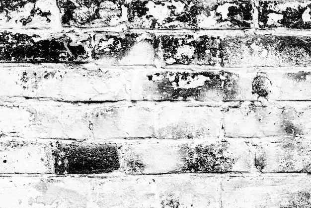 Texture, brique, mur, il peut être utilisé comme arrière-plan. texture de brique avec rayures et fissures