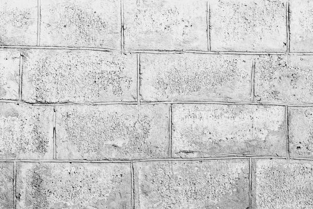 Texture, Brique, Mur, Il Peut être Utilisé Comme Arrière-plan. Texture De Brique Avec Rayures Et Fissures Photo Premium