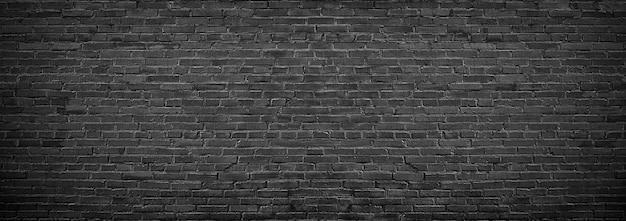 Texture de brique noire