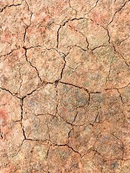 Texture brisée de saleté brune