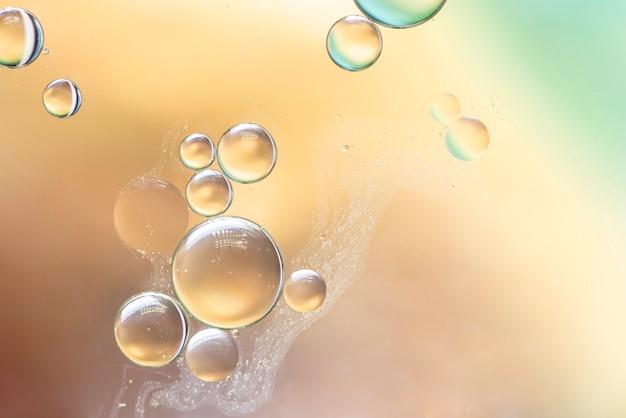 Texture de bulles abstraite