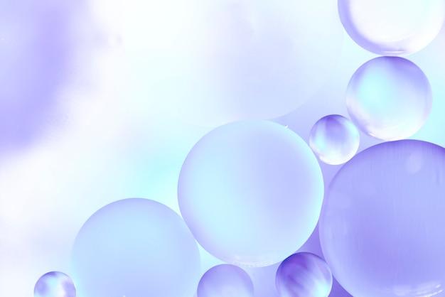 Texture de bulles abstraites violettes et bleues