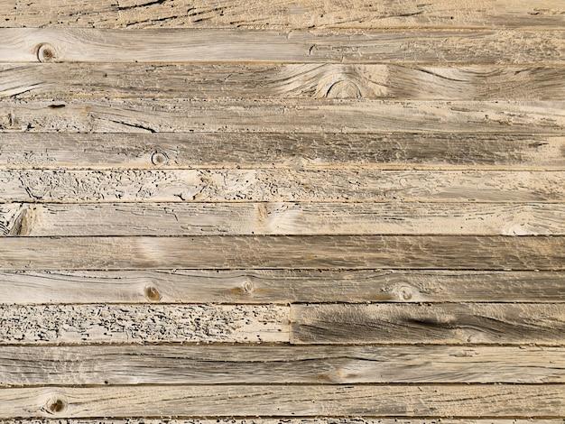 Texture de bureau en bois naturel