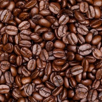 Texture de café torréfié
