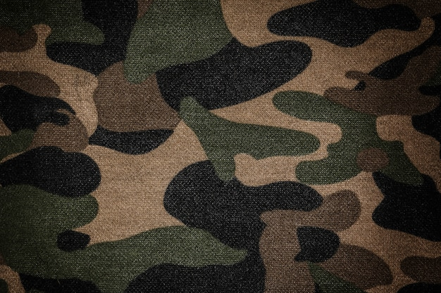 Texture d'un camouflage
