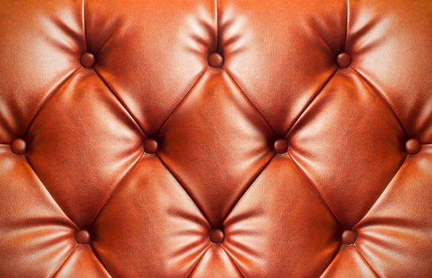 Texture de canapé en cuir