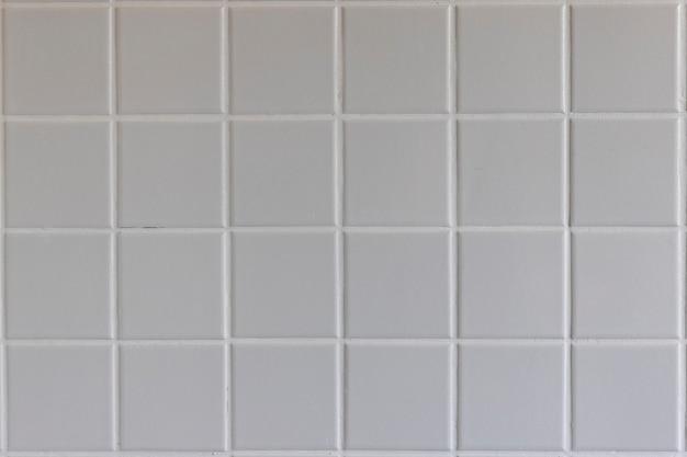 Texture de carreaux blancs pour revêtement mural