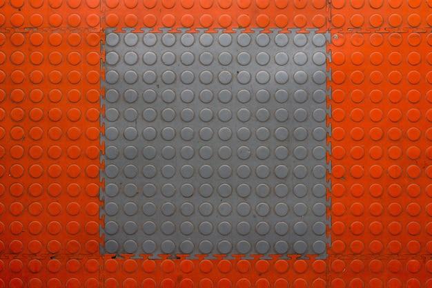 Texture de carreaux de caoutchouc.
