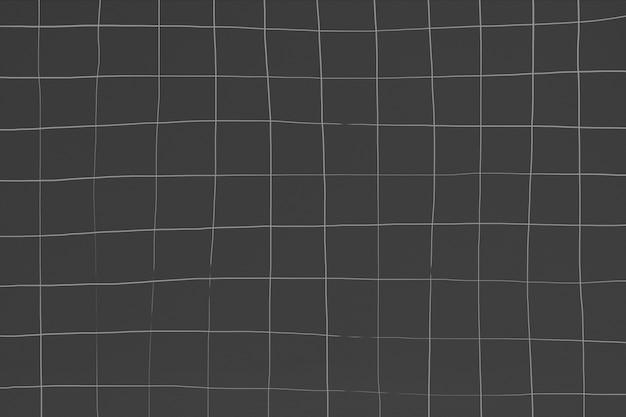 Texture de carreaux de céramique carrés gris foncé déformée