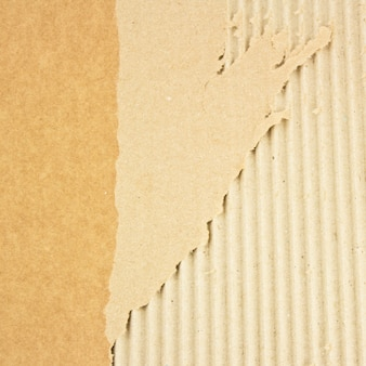 Texture de carton cassé grunge