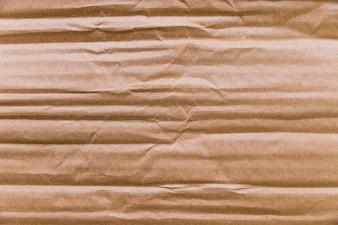Texture de carton froissé