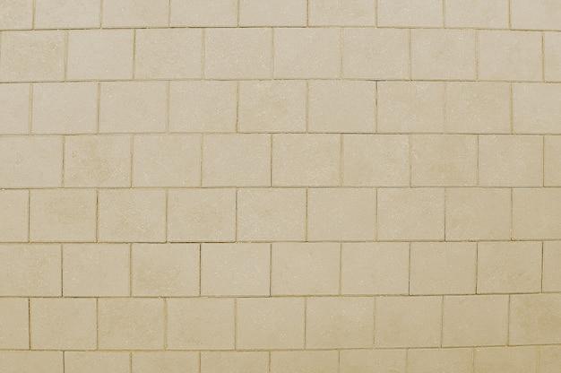 Texture de chaussée mosaïque beige vieille route