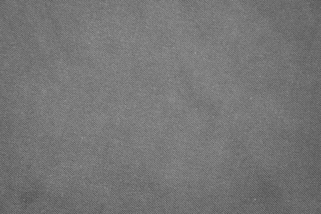 Texture de la chemise grise froissée.