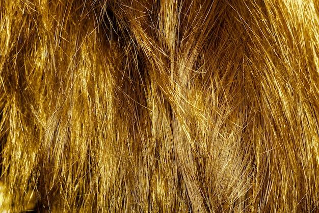 Texture cheveux blonds