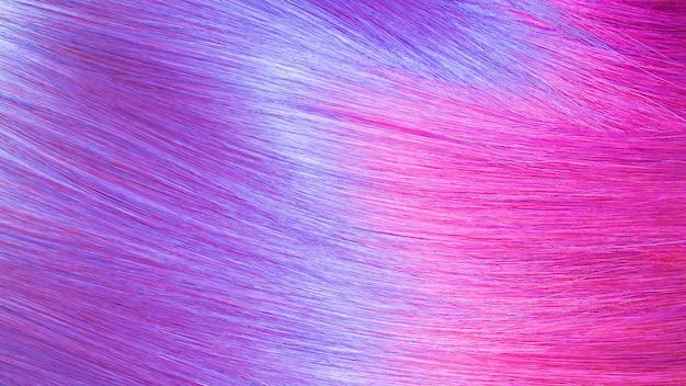 Texture de cheveux colorés