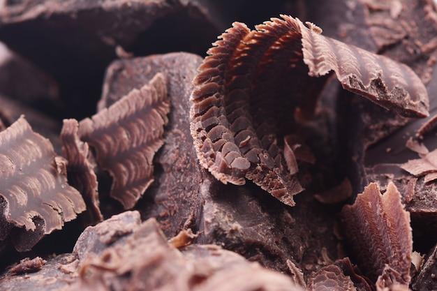 Texture chocolat noir