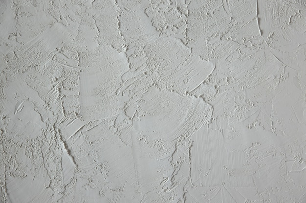 Texture de ciment. couleur blanche. fond de béton. surface du mur plâtré vide