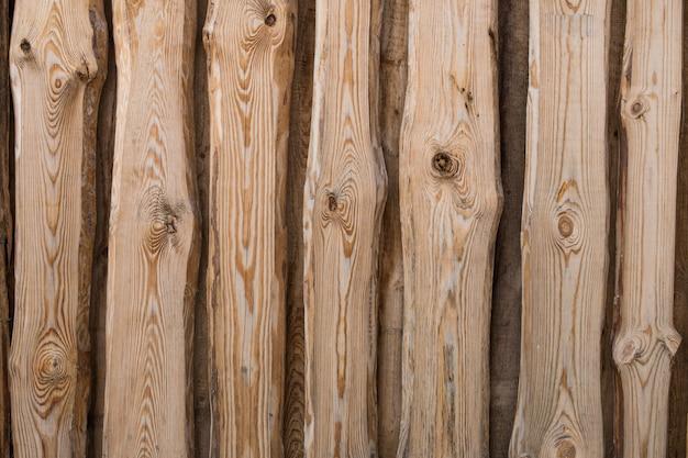 Texture de clôture en bois sans peindre les planches verticales