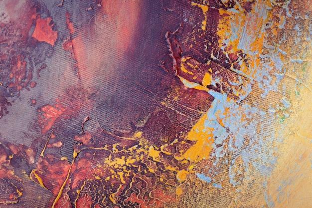 Texture colorée abstraite beau street art de dessin créatif de couleur graffiti sur le mur