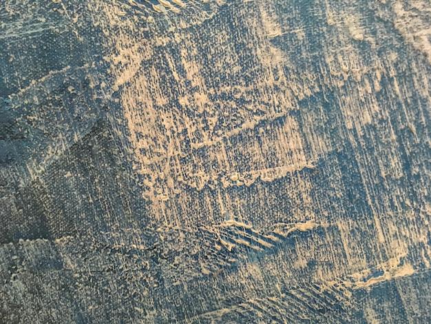 Texture de couleur bleue de l'art abstrait.