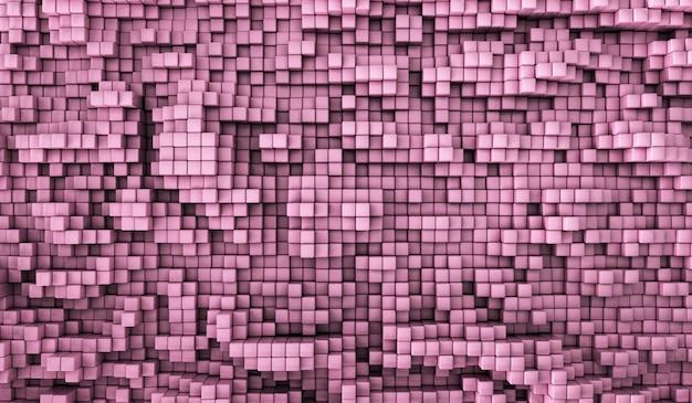 Texture de couleur de mode carré abstrait.