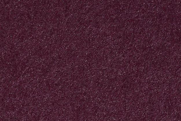Texture de couleur pourpre une feuille de papier brossé. photo haute résolution.