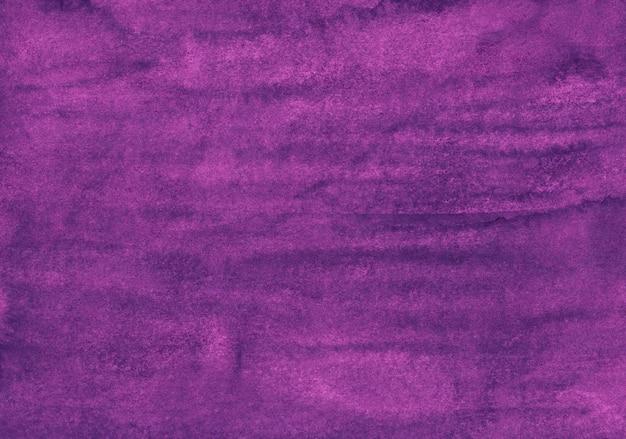 Texture de couleur violet foncé aquarelle