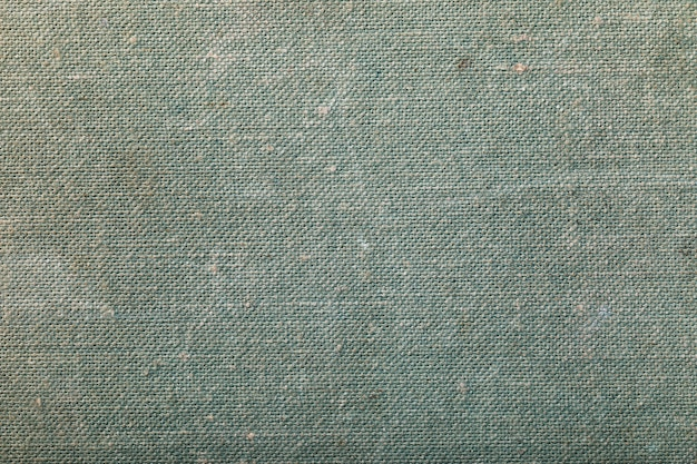 Texture de la couverture d'un vieux livre en gros plan