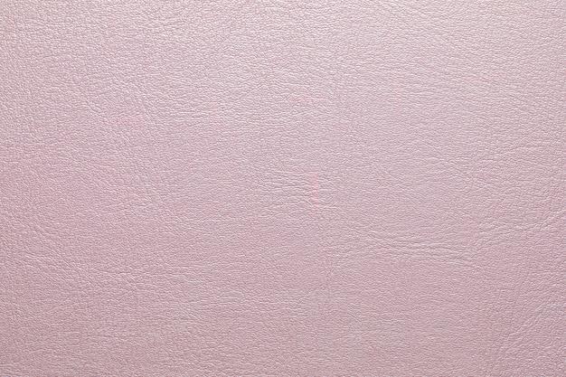 Texture de cuir artificiel en cuir rose