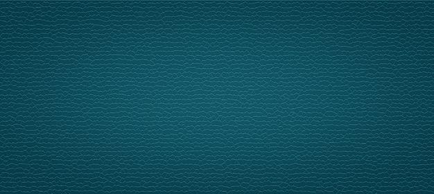 Texture de cuir artificiel de luxe bleu