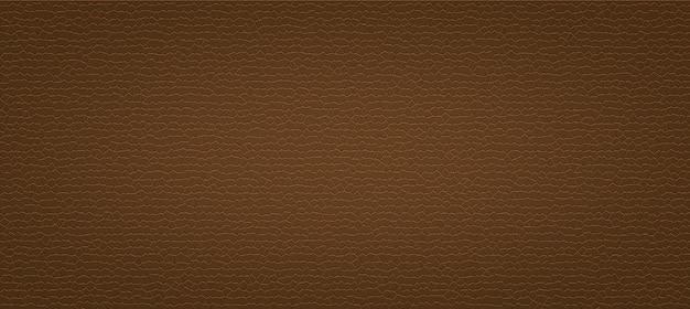 Texture de cuir artificiel marron foncé