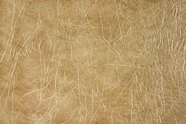 Texture de cuir beige.